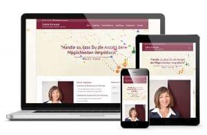 Sabine Ramseyer - Webdesign