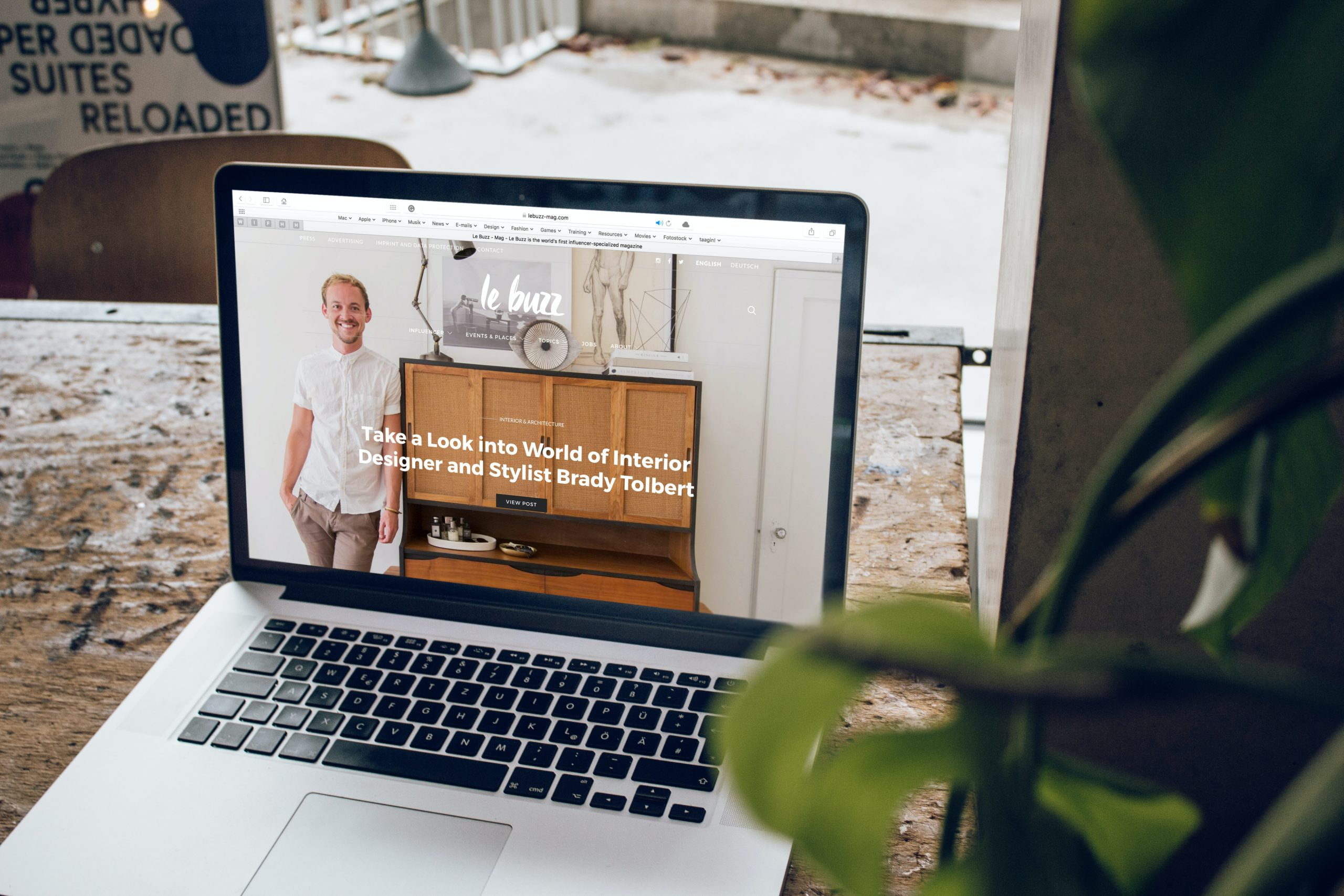 Sabine Ramseyer - Webdesign