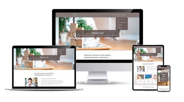 Webdesign für Coaches, Trainer und Berater